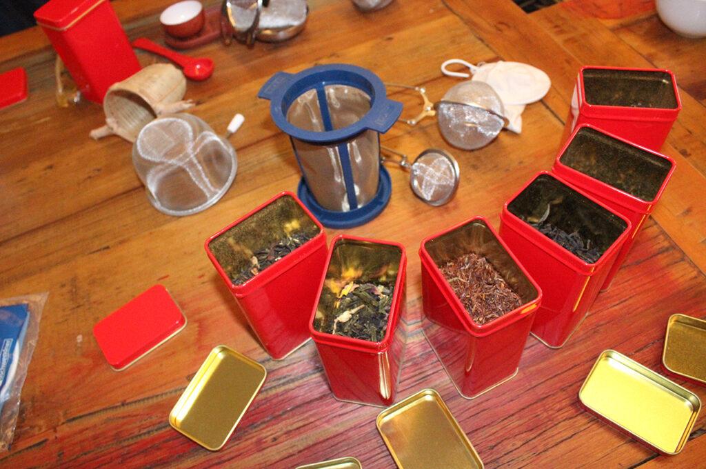 Preparation of tea