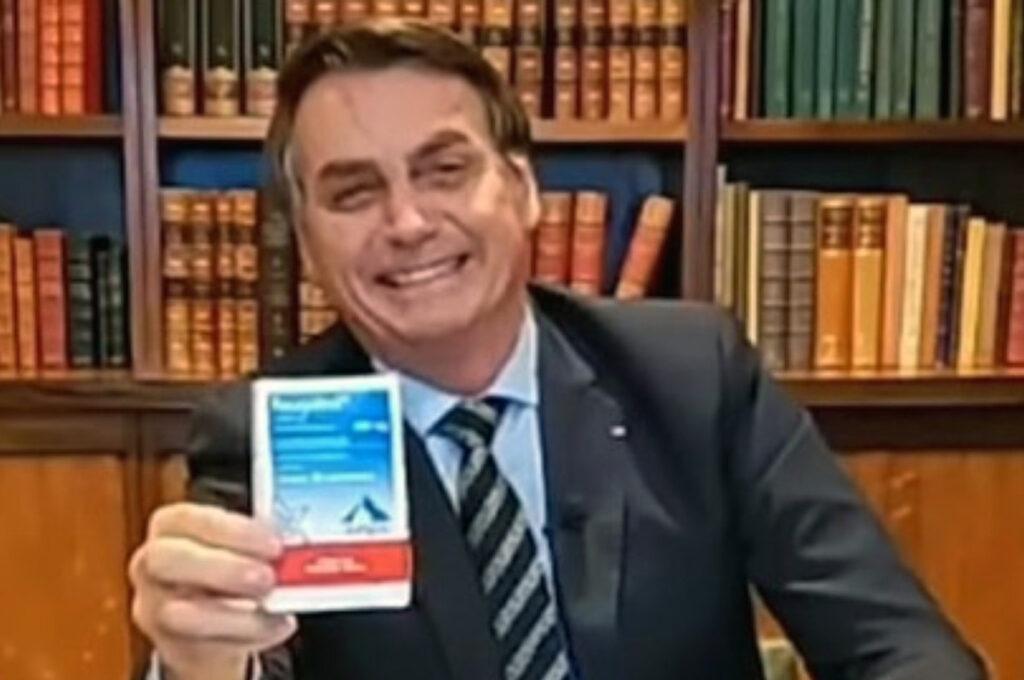 Bolsonaro defends chloroquine
